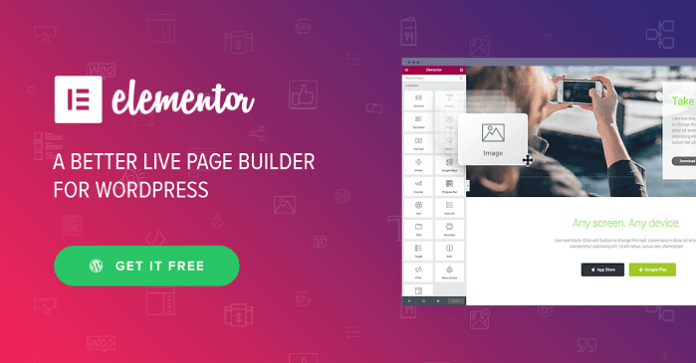 Elementor Pro 2.1.9 (With All Templates) + Elementorism Landing Pages – WordPress Page Builder