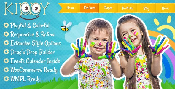 Kiddy 1.1.6 - Children WordPress theme