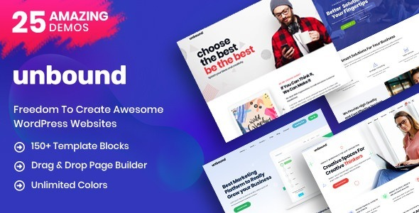 Unbound 2.0.0 - Business Agency Multipurpose Theme