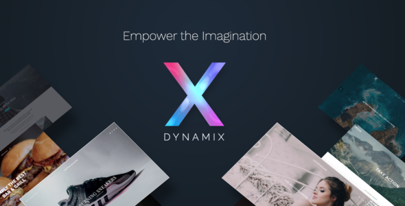 DynamiX Business / Corporate WordPress Theme