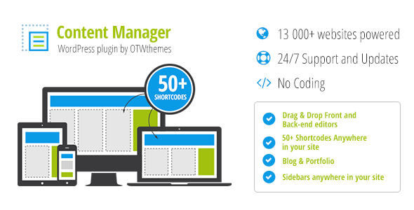 Content Manager for WordPress 2.18