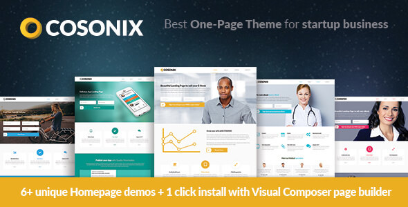 Cosonix Theme for eBook, App and Agency WordPress Theme