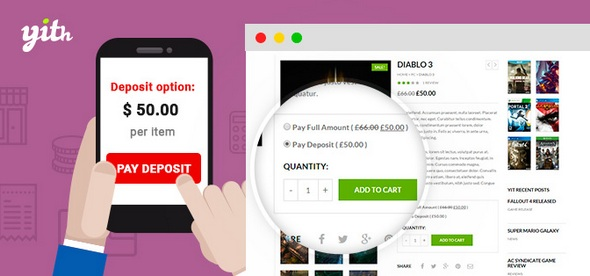 Deposits and Down Payments 1.2.1 - WooCommerce Premium