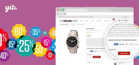 WooCommerce Share for Discounts Premium 1.4.7 – WeaDown