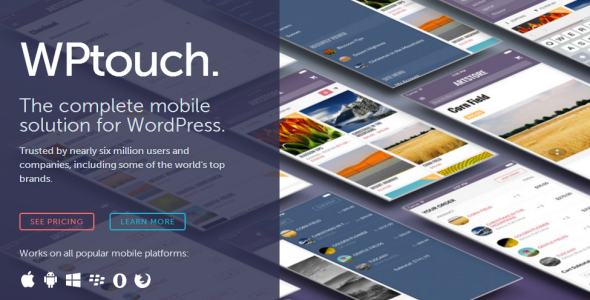 WPtouch Pro Mobile Suite for WordPress