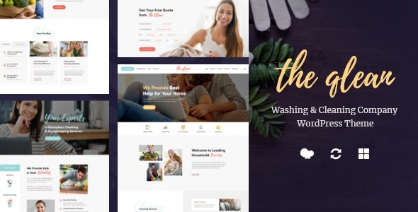 The Qlean 1.2.1 - Cleaning Company WordPress Theme