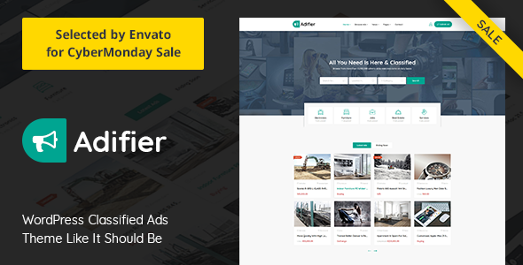 Adifier 3.4 - Classified Ads WordPress Theme