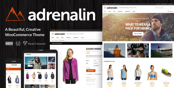 Adrenalin 2.0.0 - Multi-Purpose WooCommerce Theme