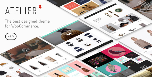 Atelier 2.5.0 - Creative Multi-Purpose eCommerce Theme