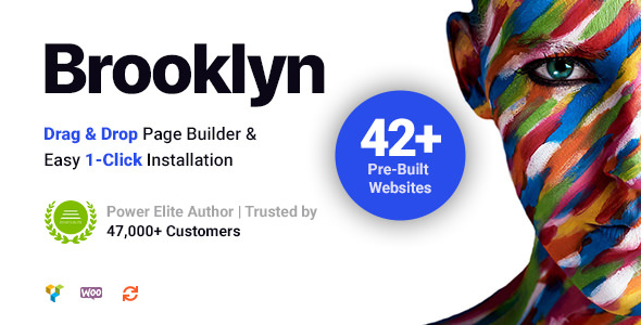 Brooklyn 4.9.1.1 - Creative Multipurpose Responsive WordPress Theme