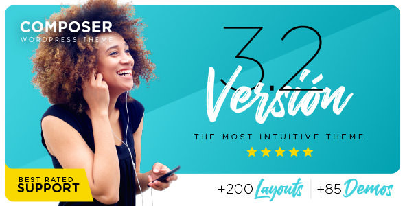Composer 3.2.7 - Responsive Multi-Purpose High-Performance WordPress Theme