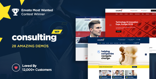 Consulting 4.3 - Business, Finance WordPress Theme