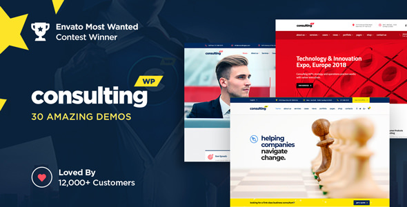 Consulting 4.5 - Business, Finance WordPress Theme