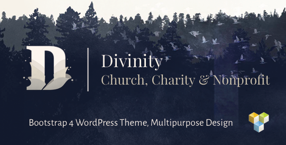 Divinity 1.3.0 - Church, Nonprofit, Charity Events WordPress Theme