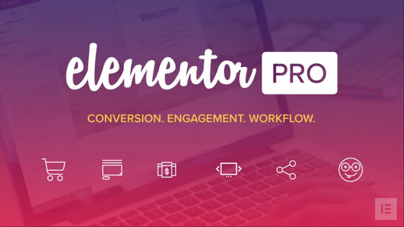 Elementor Pro 2.2.1 (With All Templates) – WordPress Page Builder – WeaDown