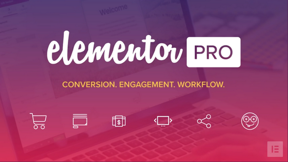 Elementor Pro 2.2.2 (With All Templates) – WordPress Page Builder – WeaDown