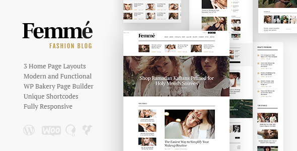 Femme 1.1 - An Online Magazine & Fashion Blog Theme