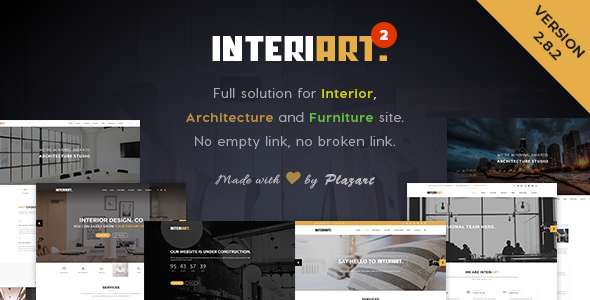 InteriArt 2.8.2 - Furniture & Interior WordPress Theme