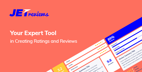 JetReviews 1.1.4 - Reviews Widget for Elementor Page Builder