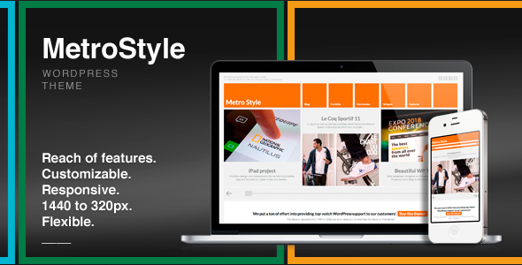 MetroStyle 1.5.3 - Responsive All Purpose WordPress Theme