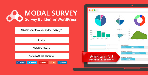 Modal Survey v2.0.1.3 - WordPress Poll, Survey & Quiz Plugin