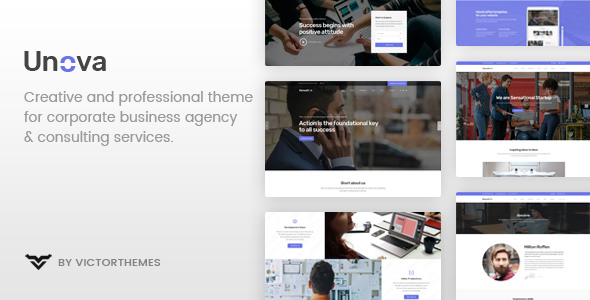 Unova 1.4 - Consulting Business WordPress Theme