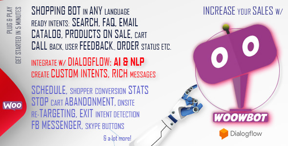 WoowBot 9.1.0 - Chat Bot for WooCommerce