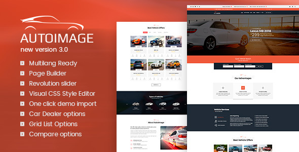 Auto Image 3.3.1 - WordPress Car Dealer Theme