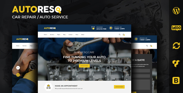 Autoresq 1.1.0 - Car Repair WordPress Theme