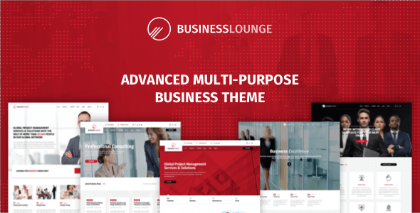 Business Lounge 1.9.3 - Multi-Purpose Consulting & Finance Theme