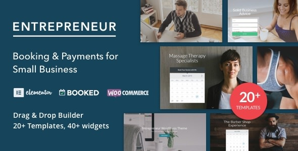 Entrepreneur 2.0.5 - Booking for Small Businesses