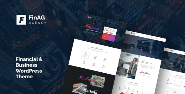 Finag 1.3 - Creative & Finance Agency WordPress Theme