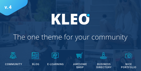 KLEO 4.4.2 - Multi-Purpose BuddyPress Theme