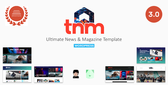 The Next Mag 3.0 - Ultimate Magazine WordPress Theme