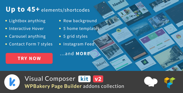 VCKit 2.0.5 - WPBakery Page Builder Addons Collection