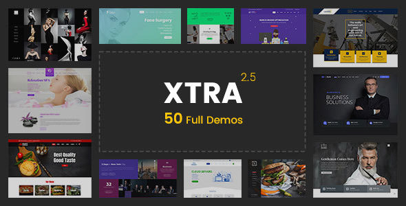 XTRA 2.5.2 - Multipurpose WordPress Theme