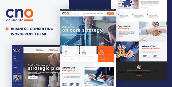 Councilio 1.0.1 - Business and Financial Consulting WordPress Theme