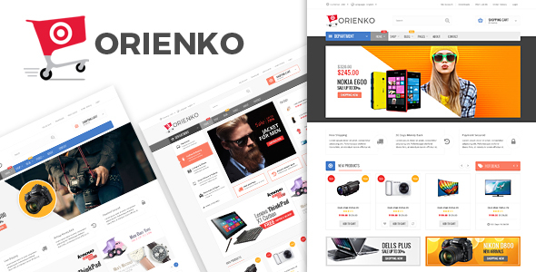 Orienko 1.4.1 - WooCommerce Responsive Digital WordPress Theme