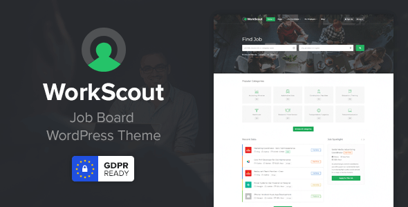 WorkScout 2.0.34 Nulled - Job Board WordPress Theme