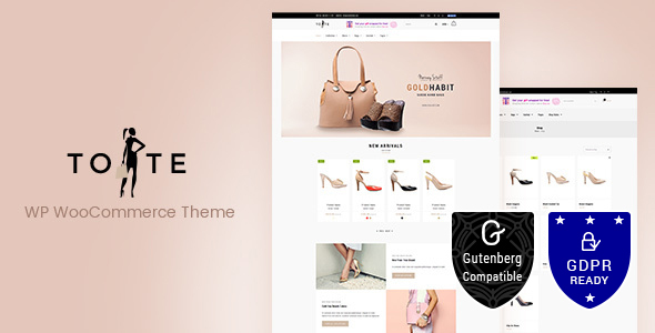 Tote 2.3 Nulled - WordPress WooCommerce Theme
