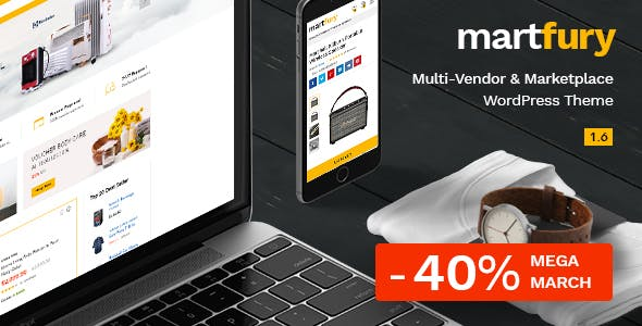 Martfury 1.6.1 - WooCommerce Marketplace WordPress Theme