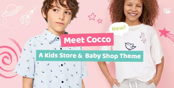 Cocco 1.1.1 - Kids Store and Baby Shop Theme