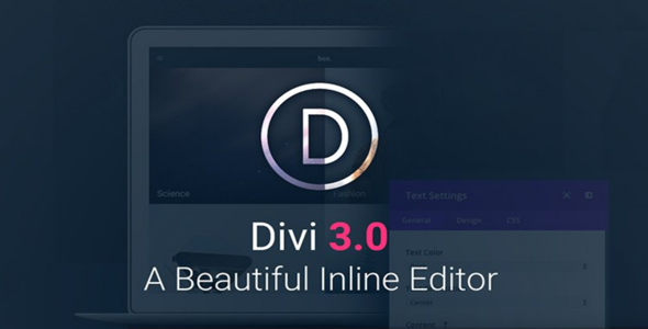 Divi 3.21 - The Ultimate WordPress Theme