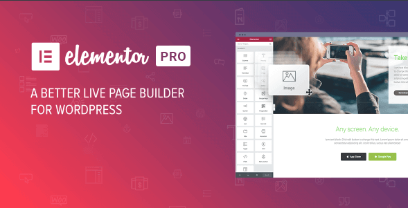 Elementor Pro 2.5.0 - WordPress Page Builder