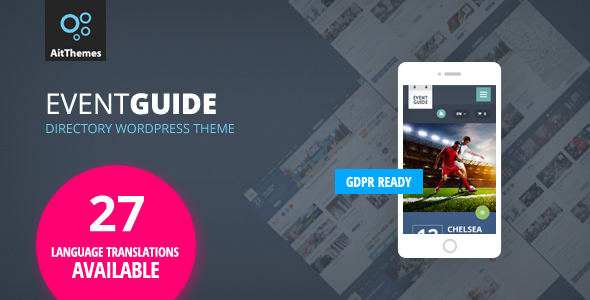Event Guide 2.53 - Ultimate Directory Listing WordPress Theme