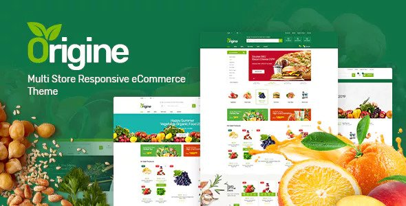 Origine 1.0.1 - Organic Theme for WooCommerce WordPress