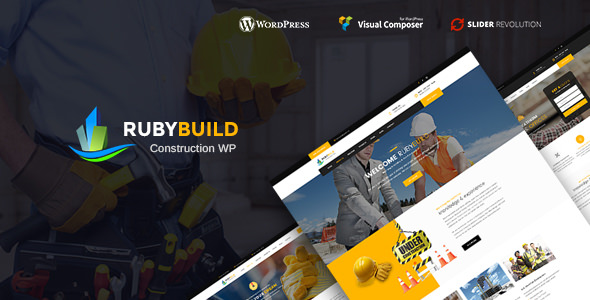 RubyBuild 1.4 - Building & Construction WordPress Theme