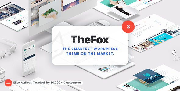 TheFox 3.6.8 - Responsive Multi-Purpose WordPress Theme