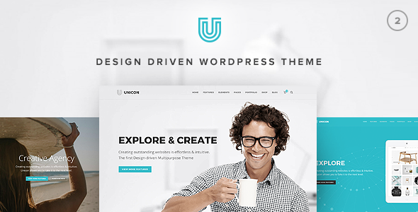 Unicon 2.5.2 - Design-Driven Multipurpose WordPress Theme