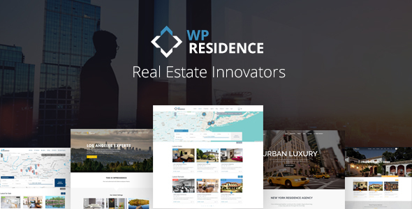 WP Residence 1.60.3 - Real Estate WordPress Theme